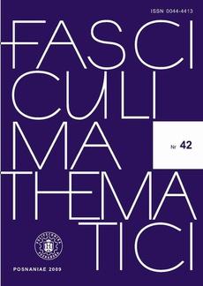 Fasciculi Mathematici 2009/42