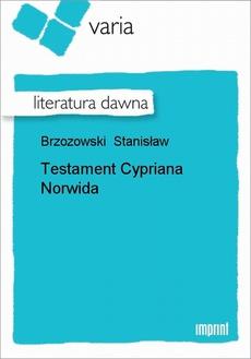 Testament Cypriana Norwida