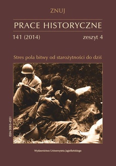 Prace Historyczne, 141 (4) 2014
