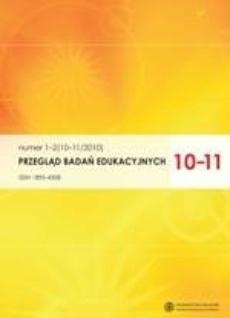 Przegląd Badań Edukacyjnych, nr 1-2 (10-11/2010)