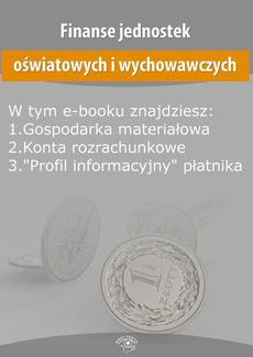 Finanse jednostek oświatowych i wychowawczych, wydanie wrzesień 2015 r.