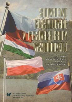 Sądownictwo konstytucyjne w państwach Grupy Wyszehradzkiej - 03 Sąd Konstytucyjny Republiki Czeskiej