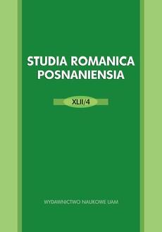 Studia Romanica Posnaniensia XLII/2
