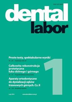 Dental Labor 1/2016