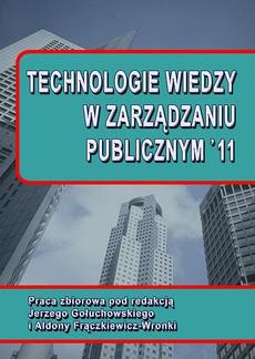 Technologie wiedzy w zarządzaniu publicznym '11