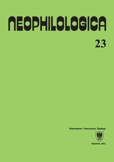 Neophilologica. Vol. 23: Le figement linguistique et les trois fonctions primaires (prédicats, arguments, actualisateurs) et autres études - 08 Le degré de figement des locutions conjonctives dans les relations transphrastiques...