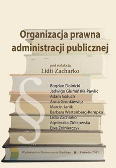 Organizacja prawna administracji publicznej - 05 Rozdz. 6, cz. 1. Terenowe organy administracji rządowej: Organizacja terenowej administracji rządowej; Wojewoda