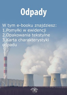 Odpady, wydanie kwiecień 2016 r.