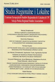 Studia Regionalne i Lokalne nr 2(56)/2014