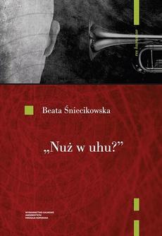 """""""Nuż w uhu""""? Koncepcje dźwięku w poezji polskiego futuryzmu"""