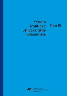 """""""Studia Politicae Universitatis Silesiensis"""". T. 18 - 01 Pamięć o początkach ustanowienia ładu politycznego a jego prawomocność"""
