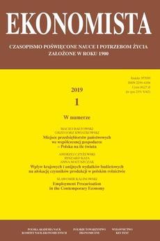 Ekonomista 2019 nr 1