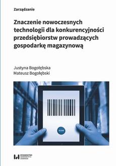 Znaczenie nowoczesnych technologii dla konkurencyjności przedsiębiorstw prowadzących gospodarkę maga