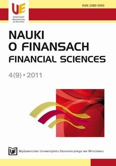 Nauki o Finansach 4(9)