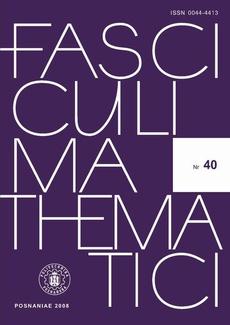 Fasciculi Mathematici, 2008/40