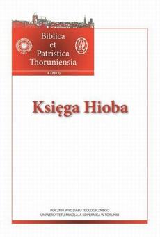 Biblica et Patristica Thoruniensia 6 (2013): Księga Hioba