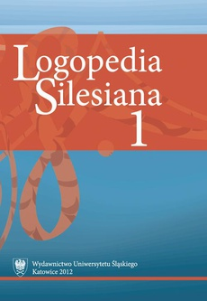 """Logopedia Silesiana"". T. 1 - 02 Case Study of a 13-year-old Boy Suffering from Depression and Stuttering"