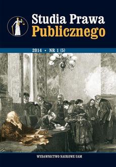 Studia Prawa Publicznego 1/2014