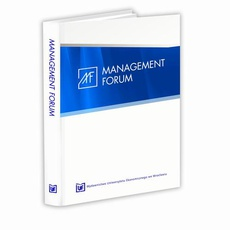 Management Forum, nr 1, vol. 3