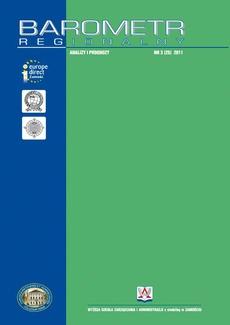 Barometr Regionalny. Analizy i Prognozy. Nr 3(25)