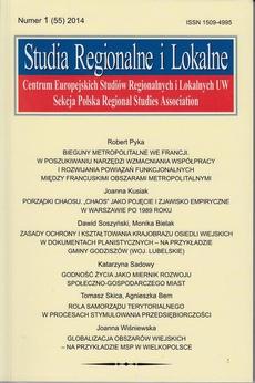Studia Regionalne i Lokalne nr 1(55)/2014