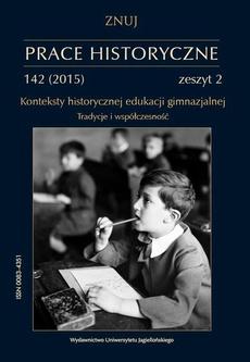 Prace Historyczne, 142 (2) 2015
