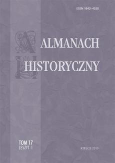 Almanach Historyczny, t. 17, z. 1