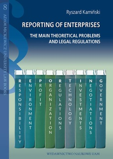 Reporting of enterpriss. The main theoretical problems and legal regulations