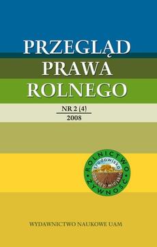 Przegląd Prawa Rolnego 2 (4) 2008