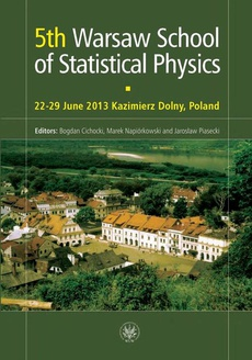 5th Warsaw School of Statistical Physics