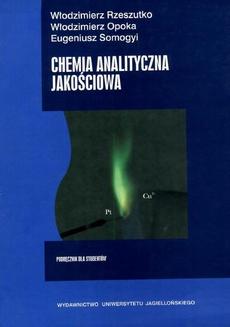 Chemia analityczna jakościowa