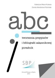 ABC tworzenia przypisów i bibliografii załącznikowej