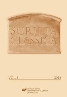 Scripta Classica. Vol. 11 - 08 Mechanisms of Ancient Literature Reception in Digital Media Methodological Context