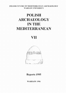 Polish Archaeology in the Mediterranean 7
