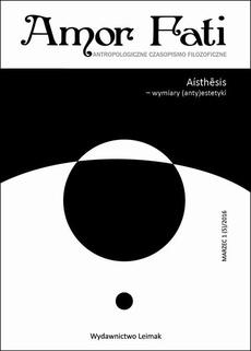 Amor Fati 1(5)/2016 – Aisthesis