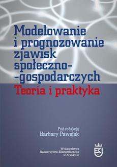 Modelowanie i prognozowanie zjawisk społeczno-gospodarczych