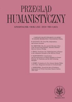 Przegląd Humanistyczny 2018/4 (463)