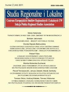 Studia Regionalne i Lokalne nr 2(44)/2011