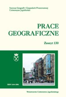 Prace Geograficzne vol 130 (2012)