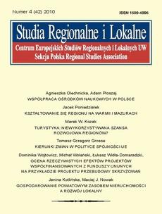 Studia Regionalne i Lokalne nr 4(42)/2010