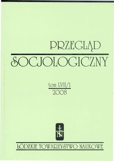 Przegląd Socjologiczny t. 57 z. 1/2008
