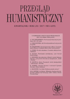 Przegląd Humanistyczny 2017/4 (459)