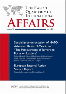 The Polish Quarterly of International Affairs 1/2013