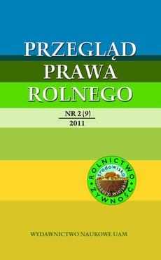 Przegląd Prawa Rolnego 2 (9) 2011