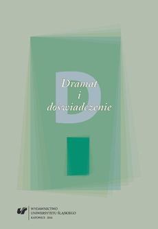 """Dramat i doświadczenie - 33 Artykulacja """"doświadczenia"""" w twórczości scenicznej Rodriga Garcíi"""