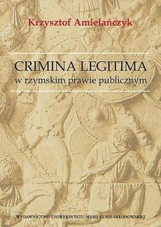 Crimina Legitima w rzymskim prawie publicznym