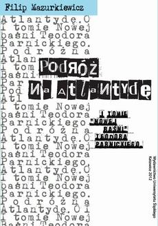 Podróż na Atlantydę - 04 Rozdz. 6-7. Narrator i postać; Ingarden a Parnicki – konsekwencje
