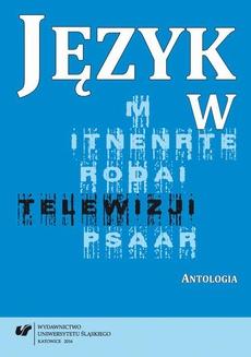Język w telewizji - 12 Wywiad czy talk-show — polskie rozmowy na ekranie