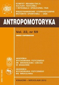 ANTROPOMOTORYKA NR 59-2012