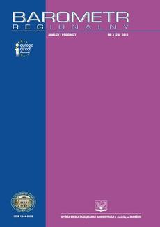 Barometr Regionalny. Analizy i Prognozy. Nr 3(29)